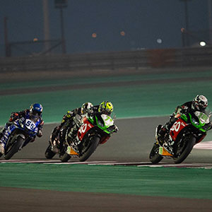 WSSP 300 Qatar: ParkinGO Kawasaki World Champion Team 2019