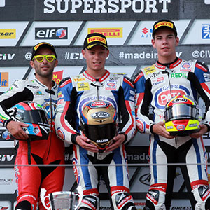 Podio Superstock Imola 2015